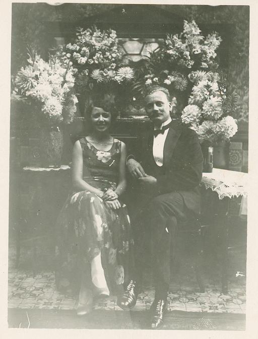 Maurice LIMOSIN et son épouse